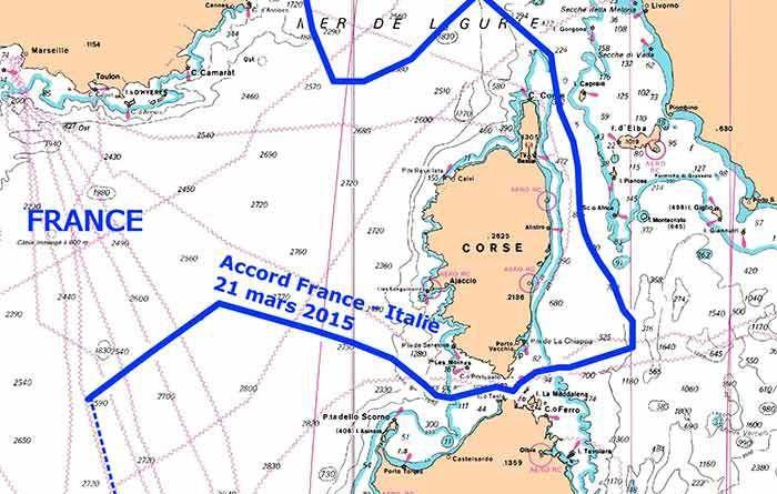 Nuovi confini marittimi Italia Francia