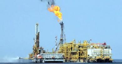 Piattaforma estrazione petrolio