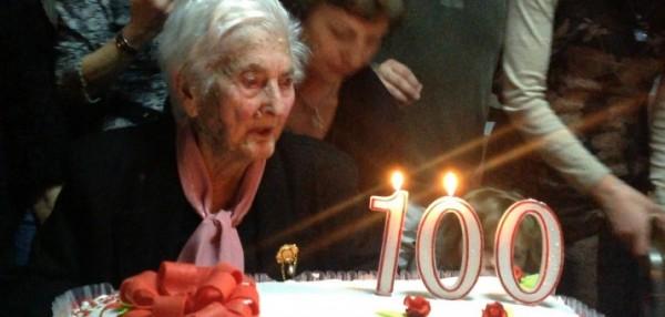 Anziana centenaria