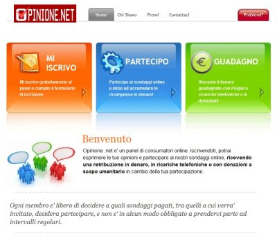 Home page di www.opinione.net